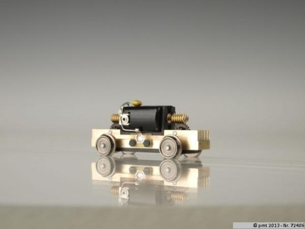 H0m Fahrwerk 31,5mm Messing