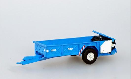 Stalldungstreuer RUR-5 CS blau/weiß