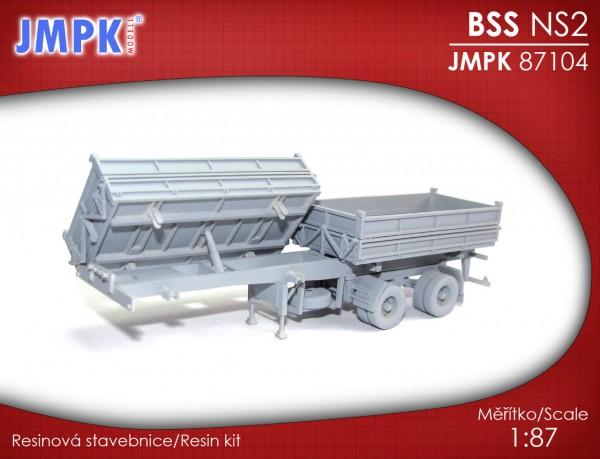 Kippauflieger 2-achsig BSS NS2