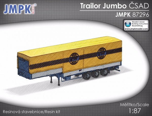 Jumbotrailer CSAD - Bausatz