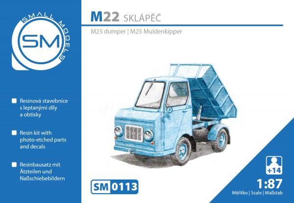 Multicar M22 Muldenkipper, Bausatz