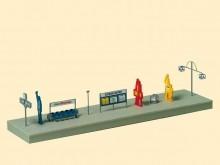 Bahnsteigaustattung
