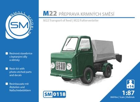 Multicar M22 Futterverteiler - Bausatz
