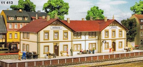 Bahnhof Grünberg