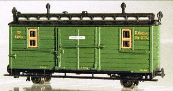 Packwagen 1495K (IK-Zug)