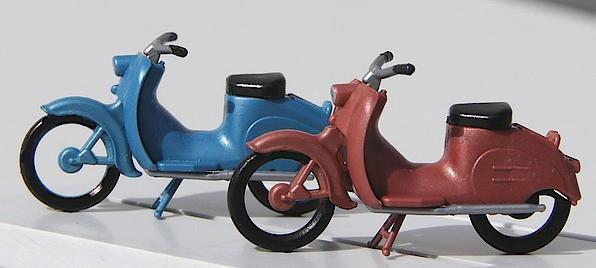 KR 50 Moped (2 Stk) H0