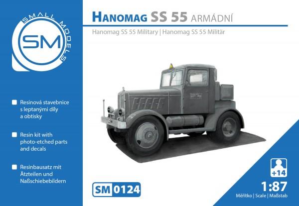 Hanomag S55 Militär , Bausatz