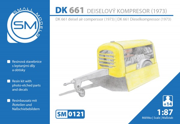 Dieselkompressor DK661 (Bj.1973), Bausatz
