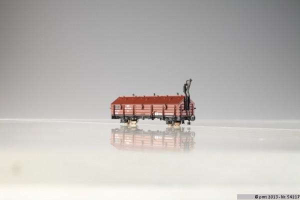 Klappdeckelwagen, 2-achsig Ep.3 DR
