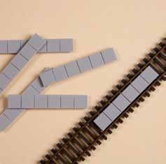 10 Gleiseinlagen (TT)