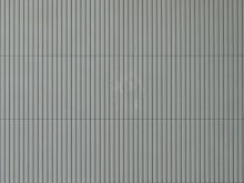Trapezblechplatte grau, 10 x 20 cm