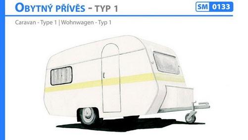 Wohnwagen Typ 1 Bausatz