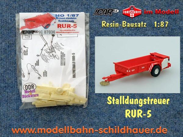 Stalldungstreuer RUR-5 CS, Bausatz