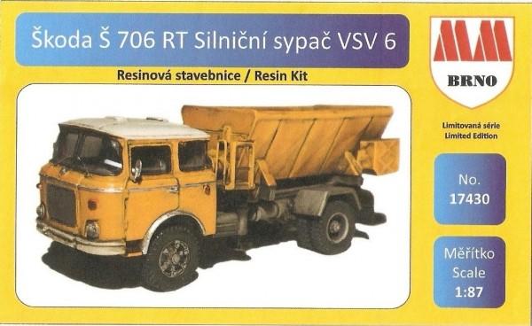 Skoda 706 RT Düngerstreuer VSV 6