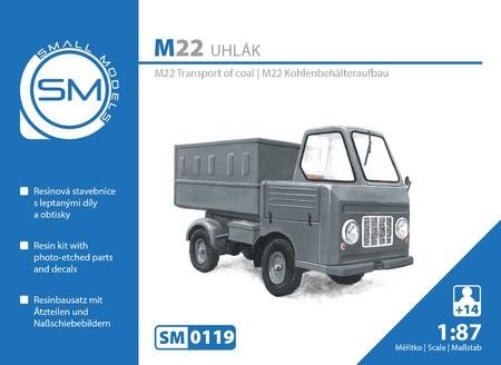 Multicar M22 Kohlenbehälteraufbau - Bausatz