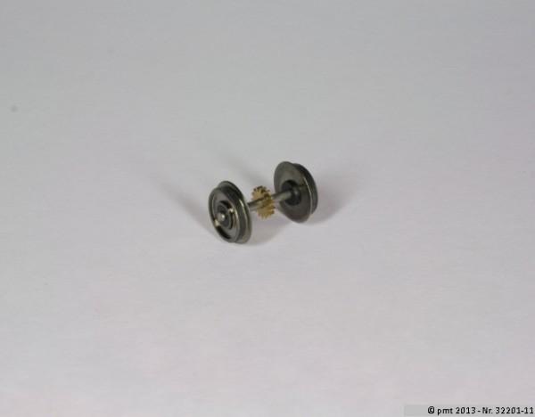 Haftreifenradsatz für Tender BR01