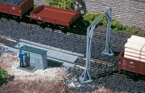 Gleiswaage mit Lademaß (TT)