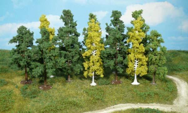 Laubwald; 12 Bäume 7-12 cm