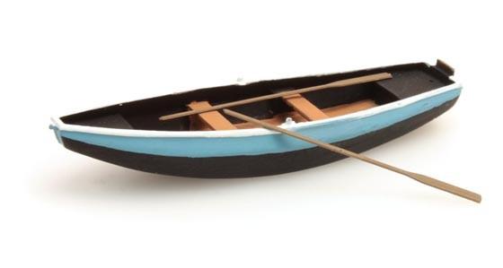 Ruderboot (Stahl) grün