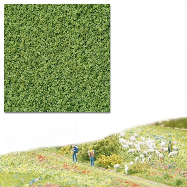 Micro-Flocken, hellgrün