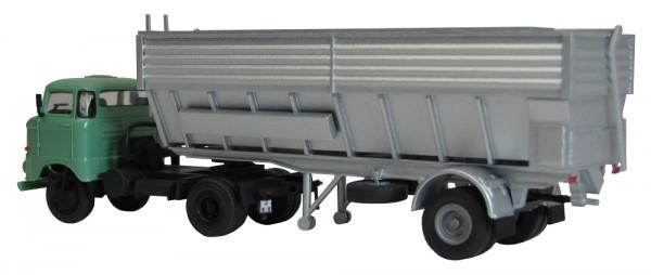 Mischfutter-/ Mehlauflieger (Bausatz) mit W50 Sattelzugmaschine (ses)