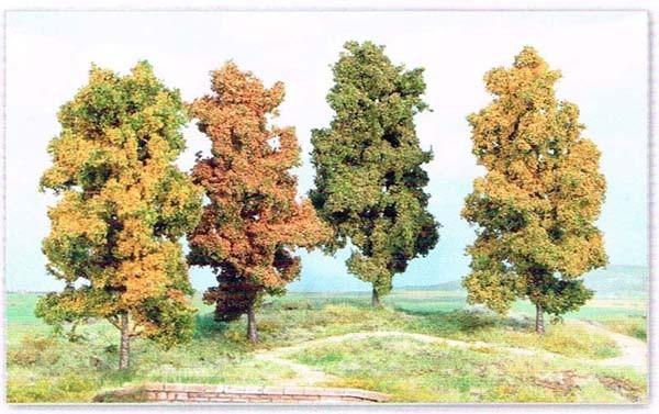 4 Herbstbaeume 11 cm