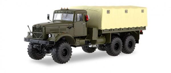 KrAZ-255B1 Militär-Planen-LKW (1:43)