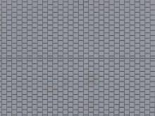 Fußsteig, grau, 10 x 20 cm