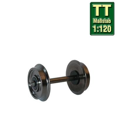 TT-Radsatz 8,0mm zweiseitig