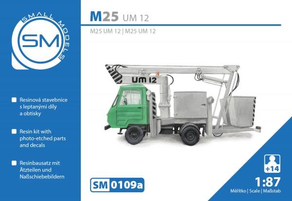Multicar M25 UM12 Montagemast , Bausatz