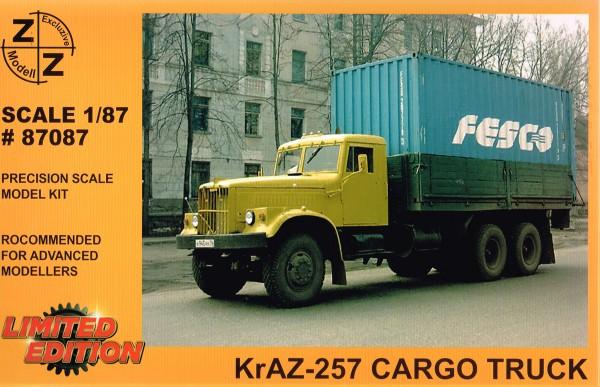 Kraz-257 Pritsche/Hochbord Bausatz