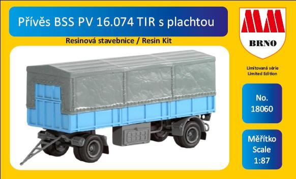 Anhänger BSS PV 16.074 2-achsig