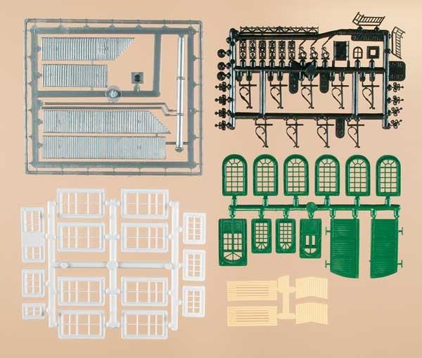 Bastelset für Industriegebäude