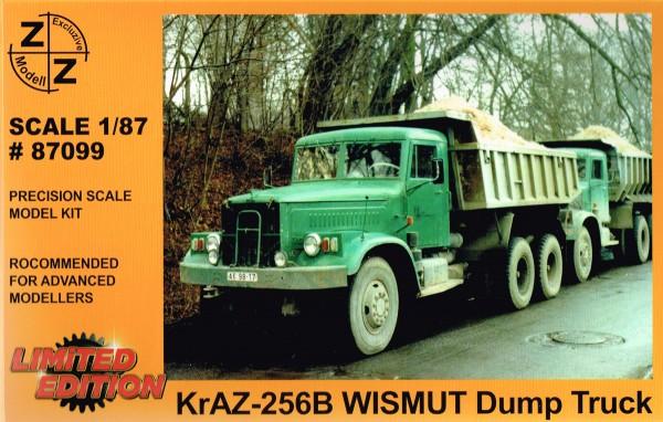 "Kraz-256 B ""Wismut-Kipper"" Bausatz"