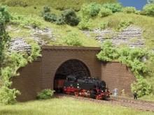 Tunnelportale zweigleisig (N)