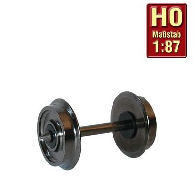 H0-Radsatz 11,4mm zweiseitig isoliert