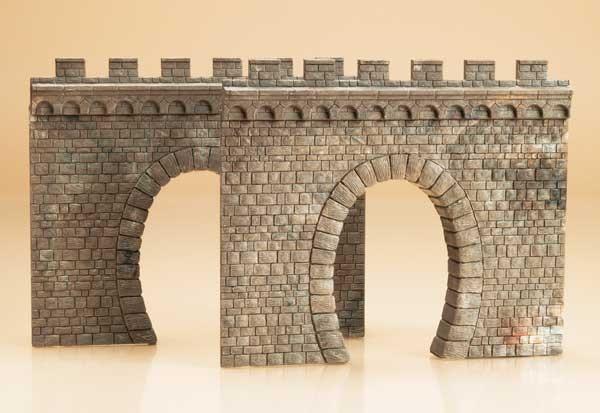 2 Tunnelportale H0