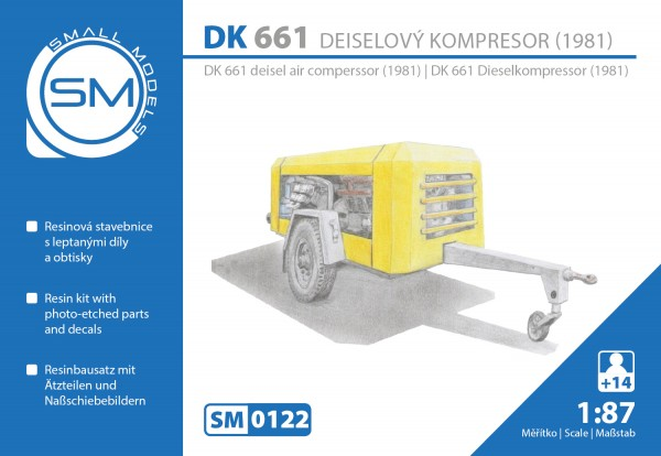 Dieselkompressor DK661(Bj.1981), Bausatz