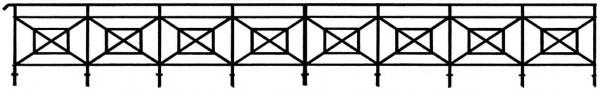 Gitter für Brücken, 84 cm